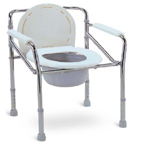 Commode Chair Tanpa Roda Gea