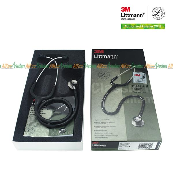 STETOSCOPE LITTMANN CLASSIC II  BAYI / INFANT BLACK 2114