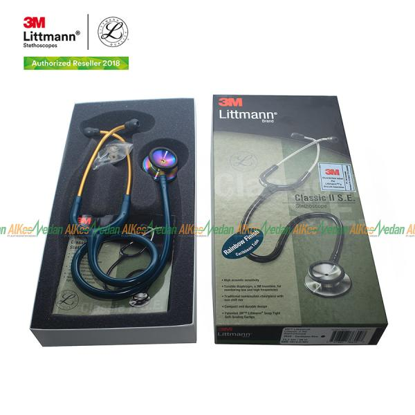 STETOSCOPE LITTMANN CLASSIC II RAINBOW CARIBBEAN BLUE 2823 LIMITED EDITION